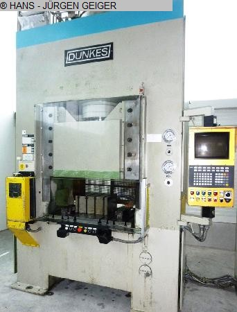 used Double Column Drawing Press - Hydraulic DUNKES HDS 125