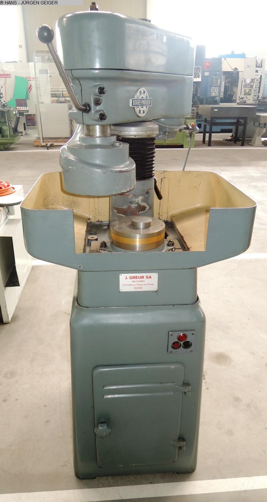 gebrauchte Maschine Flachschleifmaschine GMN MPS 2