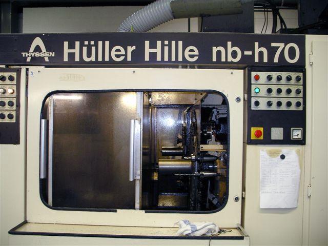 rabljeni glodalice / Strojni centri / Strojevi za bušenje Obradni centar - Horizontalni HÜLLER HILLE nbh 70