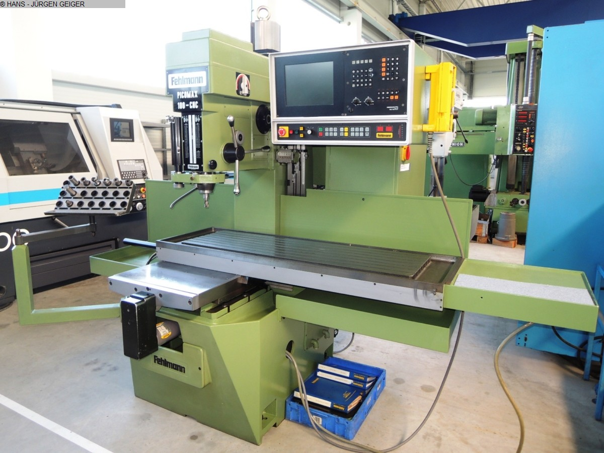 used Boring mills / Machining Centers / Drilling machines Drilling and Milling M/C FEHLMANN PICOMAX 100 CNC