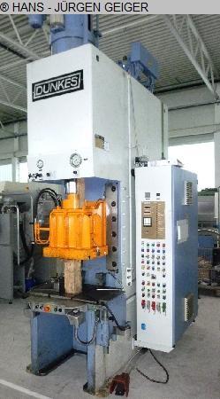 gebrauchte Pressen und Bördelmaschinen Einständerpresse - Hydraulisch DUNKES HZS 75