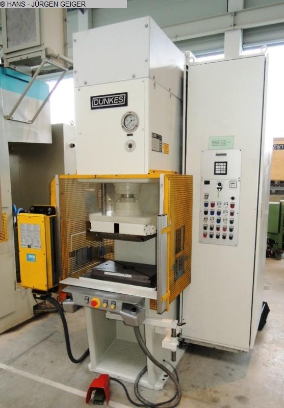 gebrauchte Pressen und Bördelmaschinen Einständerpresse - Hydraulisch DUNKES HZS 25