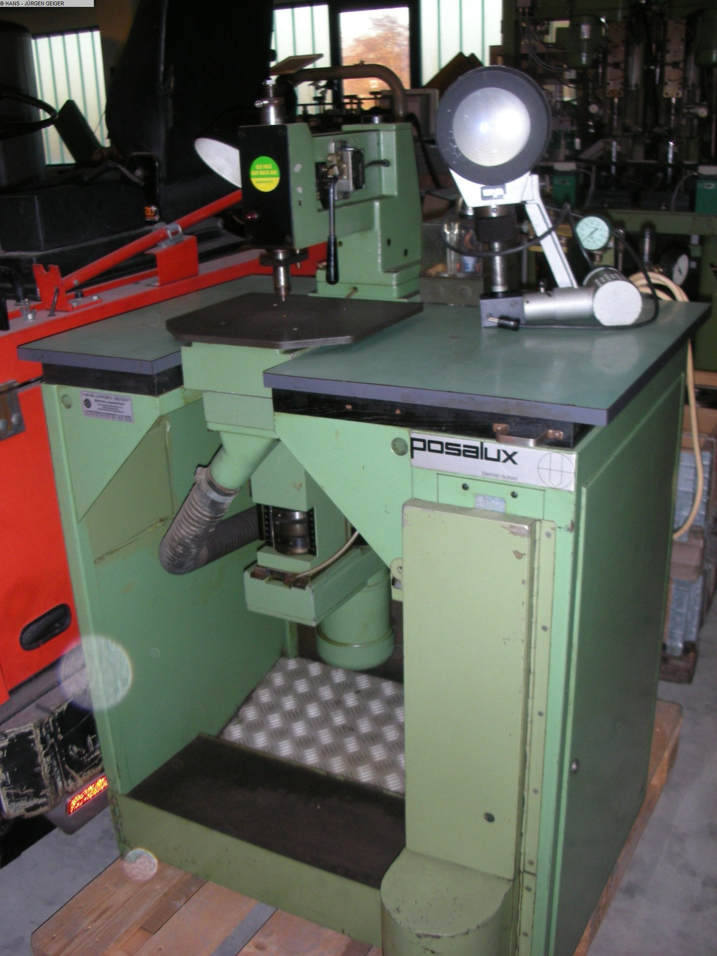 used Electronics Manufacturing/Processing Component Insertion Machine POSALUX MONOPER