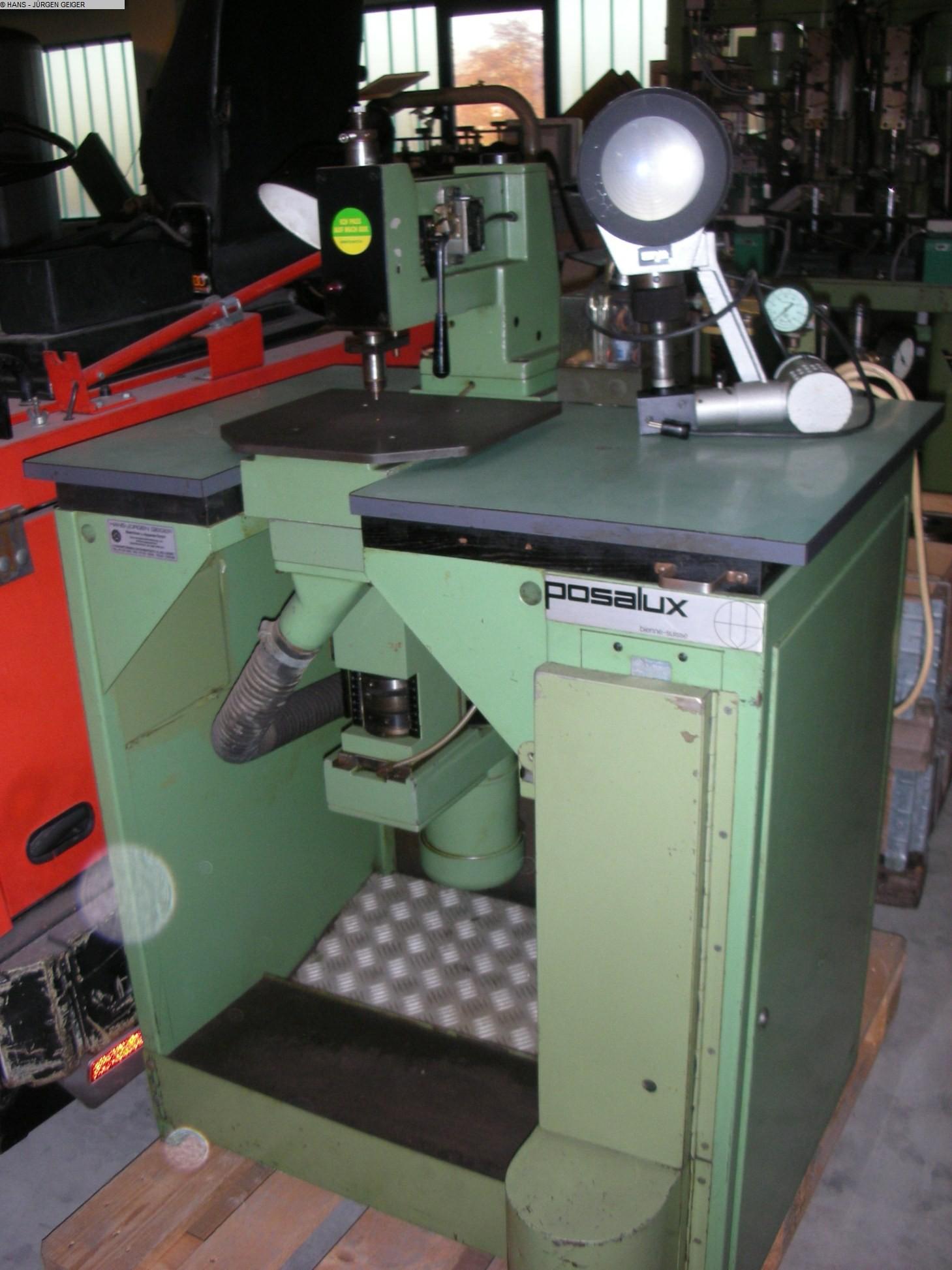 gebrauchte Elektronik ver- und bearbeitung Leiterplattenfertigungsmaschine POSALUX MONOPER