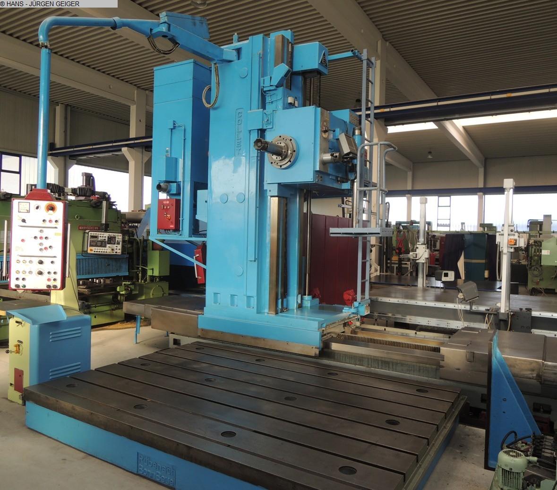 Rabljeni glodalice za bušenje / Strojni centri / Strojevi za bušenje Podni provrtanje i glodanje M / C - Hor. COLLET & ENGELHARDT BF 130 - 11