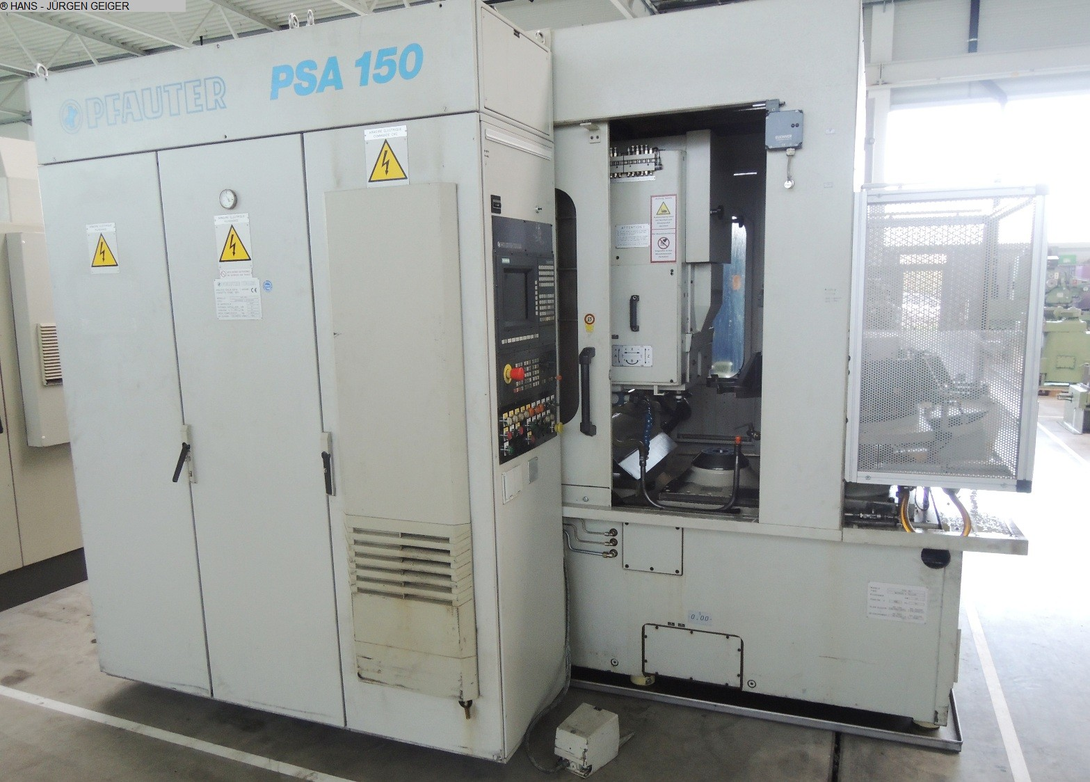 used Gear cutting machines Gear Shaping Machine GLEASON-PFAUTER PSA 150