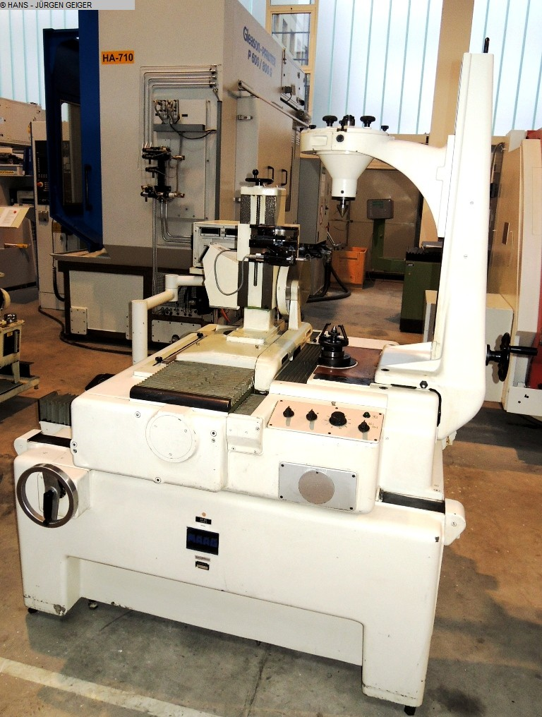 used Gear cutting machines Gear Testing Machine MAAG SP 60