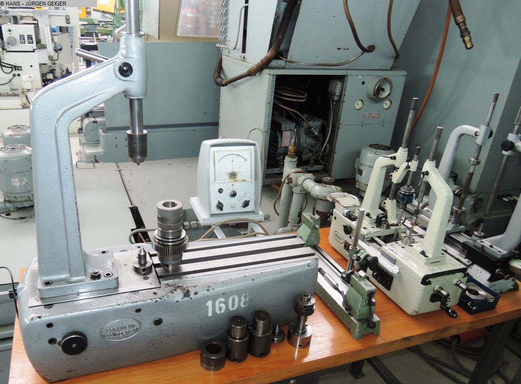 used Gear cutting machines Gear Testing Machine MAHR 894 C