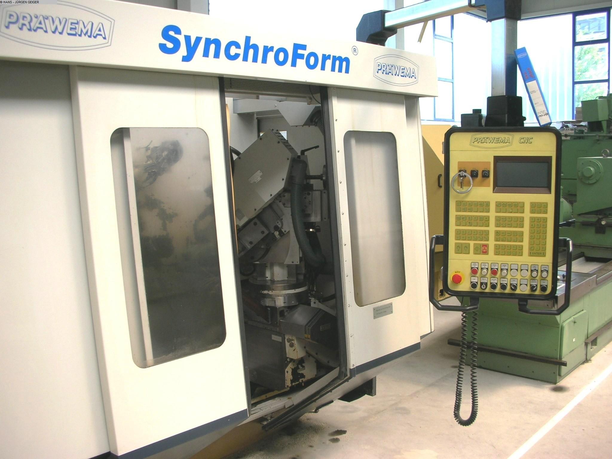 used Gear cutting machines Chamfering and Deburring Machine PRÄWEMA W 2 - 1 SYNCHROFORM