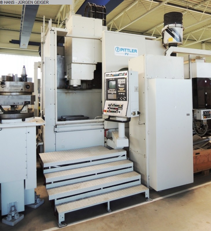 used  CNC-Vertical Turret Lathe - Single Col. PITTLER PV 1250 1-1