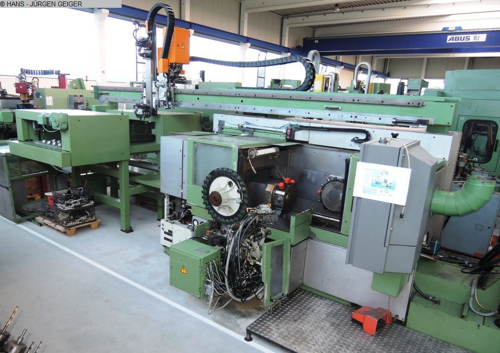 used  CNC Lathe INDEX GSC 65