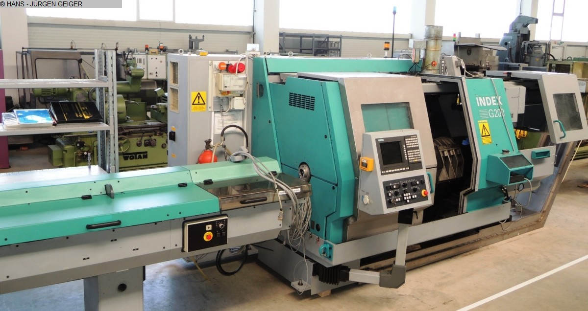 used  CNC Lathe INDEX G 200