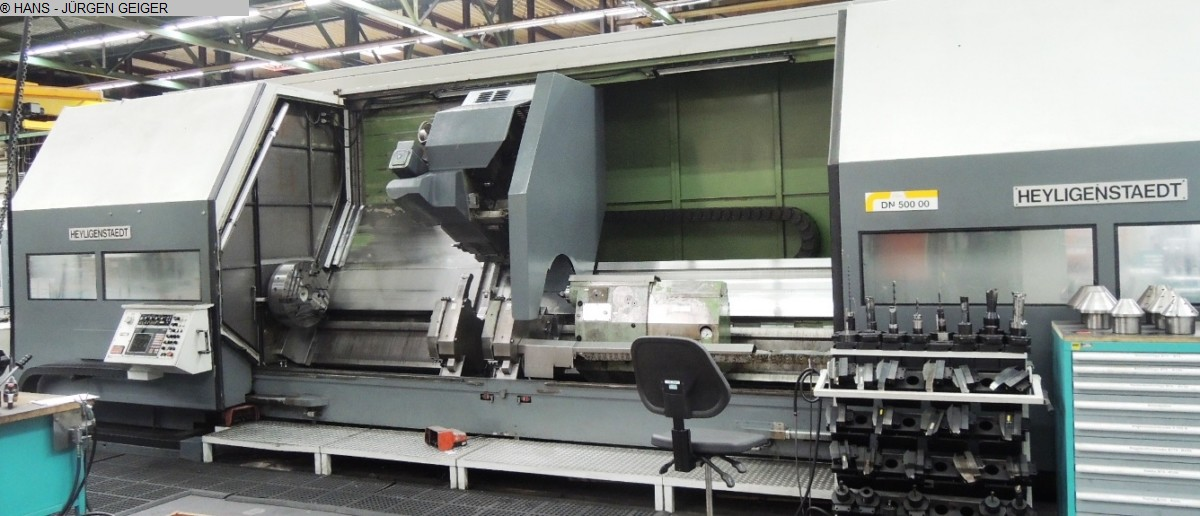 used  CNC Lathe - Inclined Bed Type HEYLIGENSTAEDT HEYNUMAT 24 U 5000