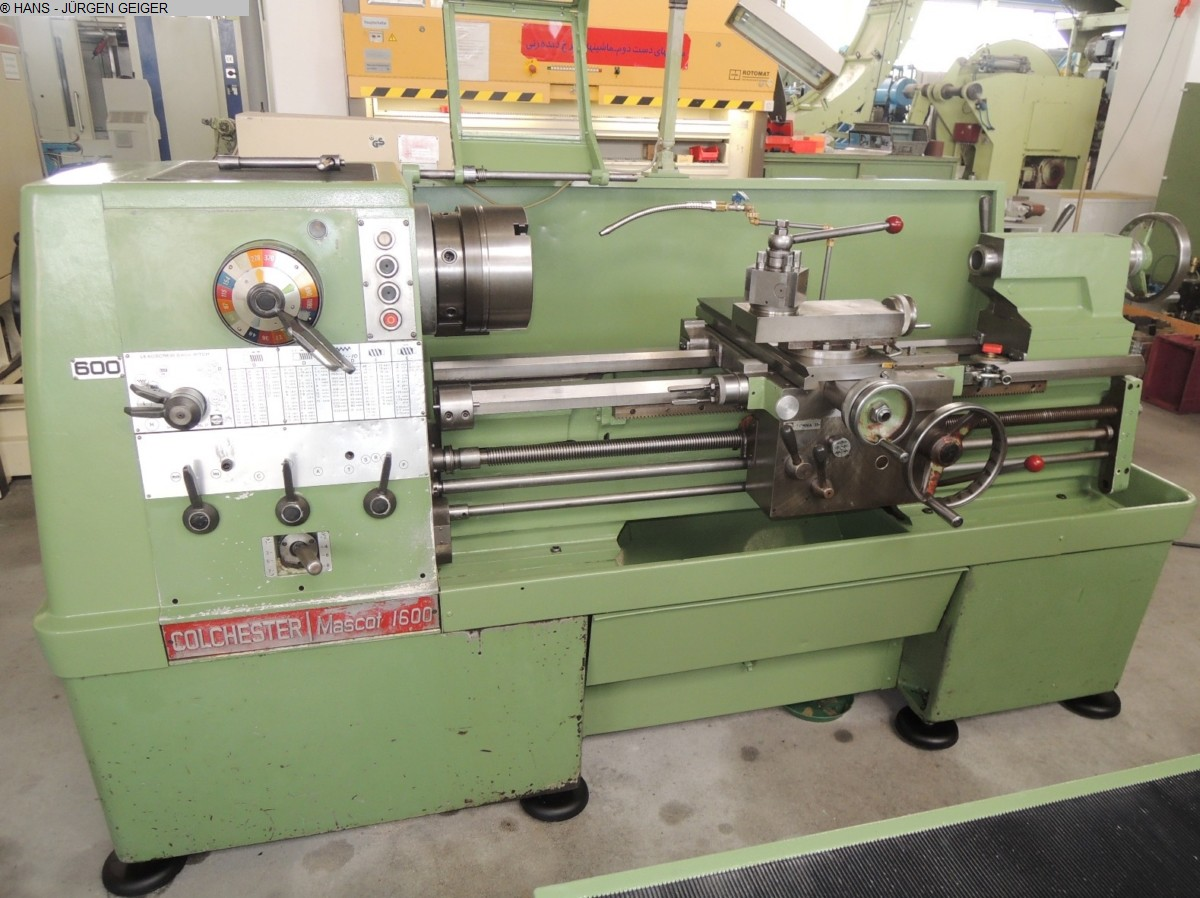 used  Center Lathe COLCHESTER MASCOT 1600