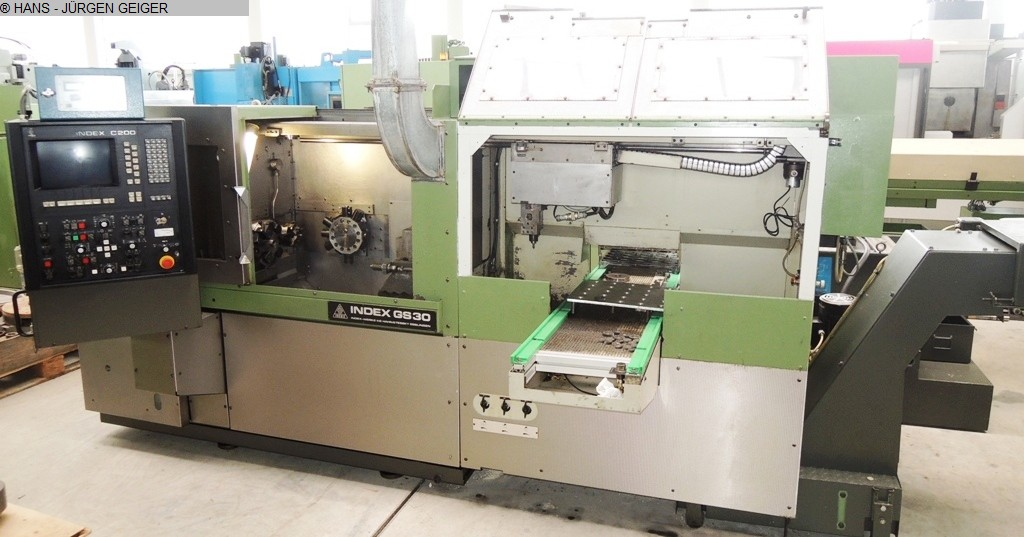 used  Chucking Automatic Lathe-Single Spindle INDEX GS 30