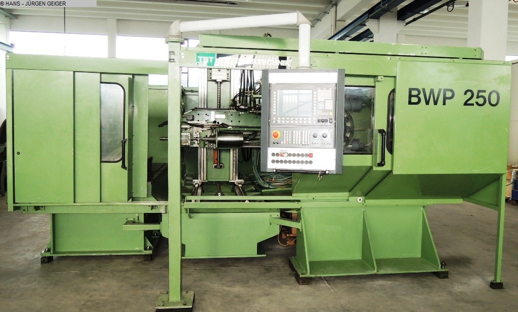 used  Deephole Boring Machine TBT BWP 250