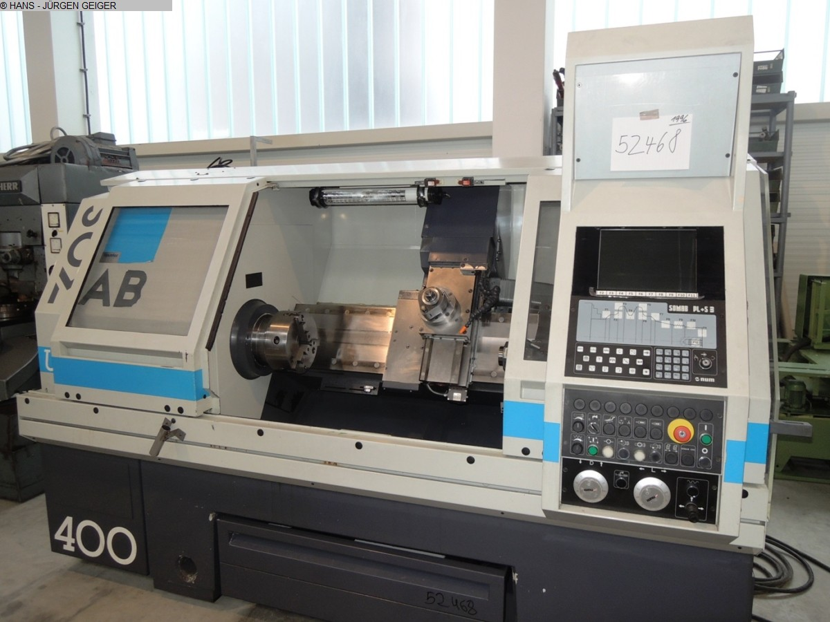 used  Lathe -  cycle-controlled SOMAB UNIMAB 400