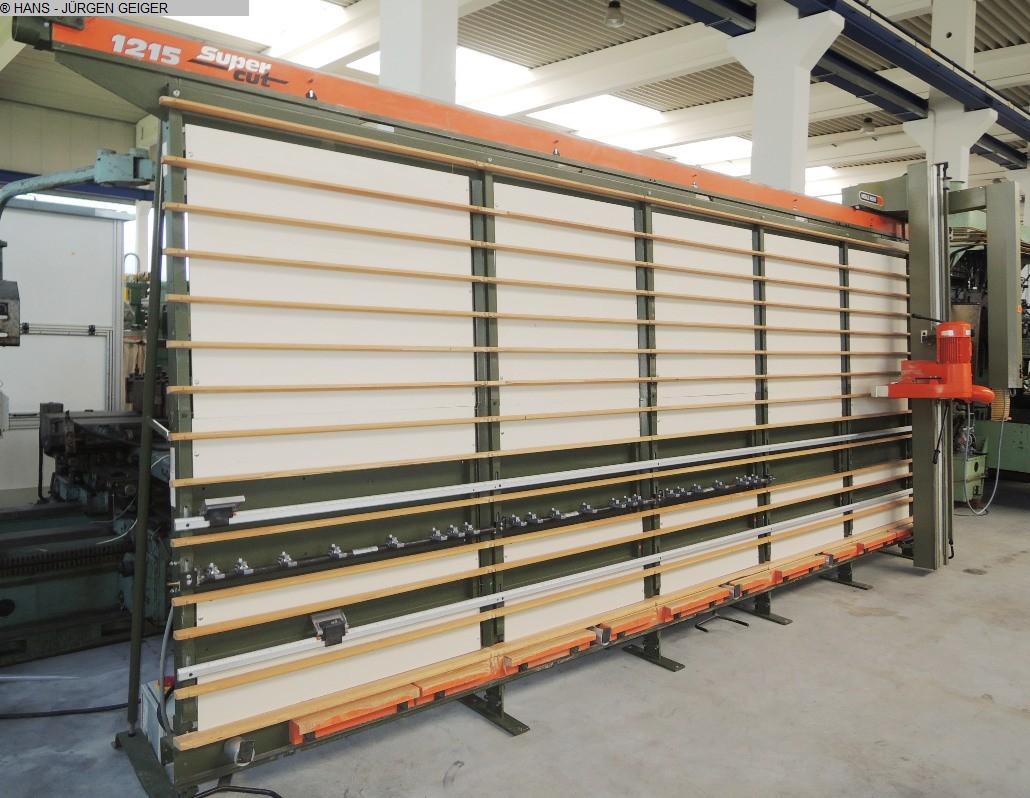 gebrauchte Holzbearbeitungsmaschinen Plattensägen vertikal HOLZHER 1215 Super Cut