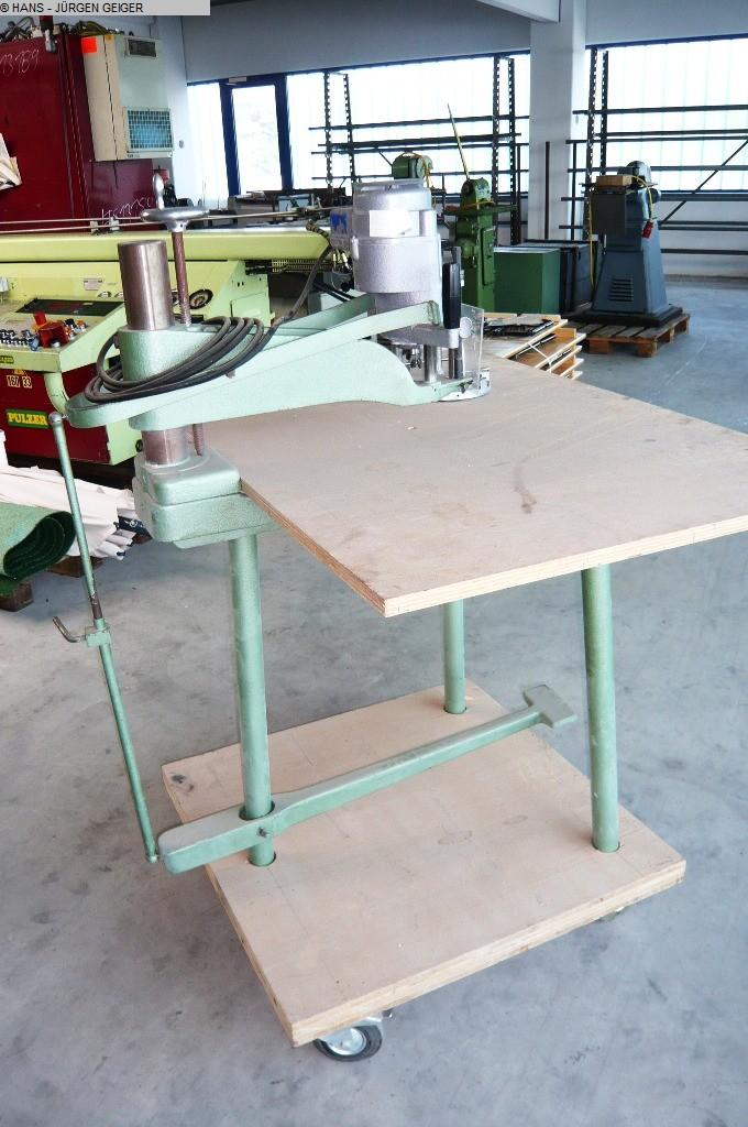 gebrauchte Fräsen, Zapfenschneiden, Schlitzen Oberfräsmaschine SCHEER HM 40 D