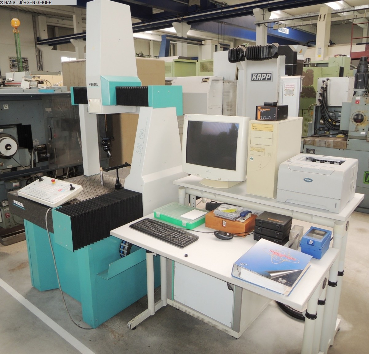 used Other Metal Processing Coordinate Measuring Machine WENZEL LH 54 CNC