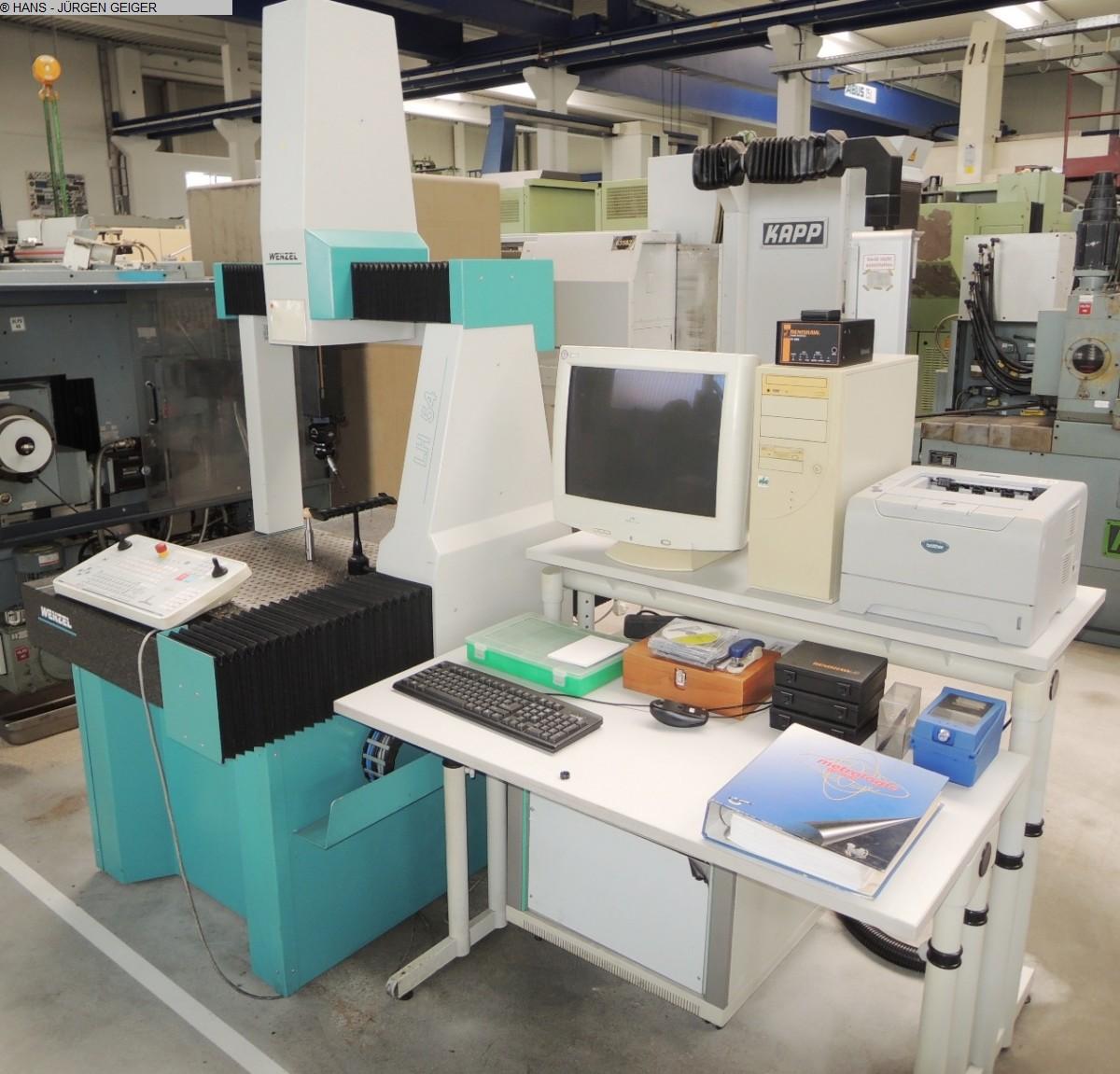 Máquina de medición por coordenadas usada WENZEL LH 54 CNC