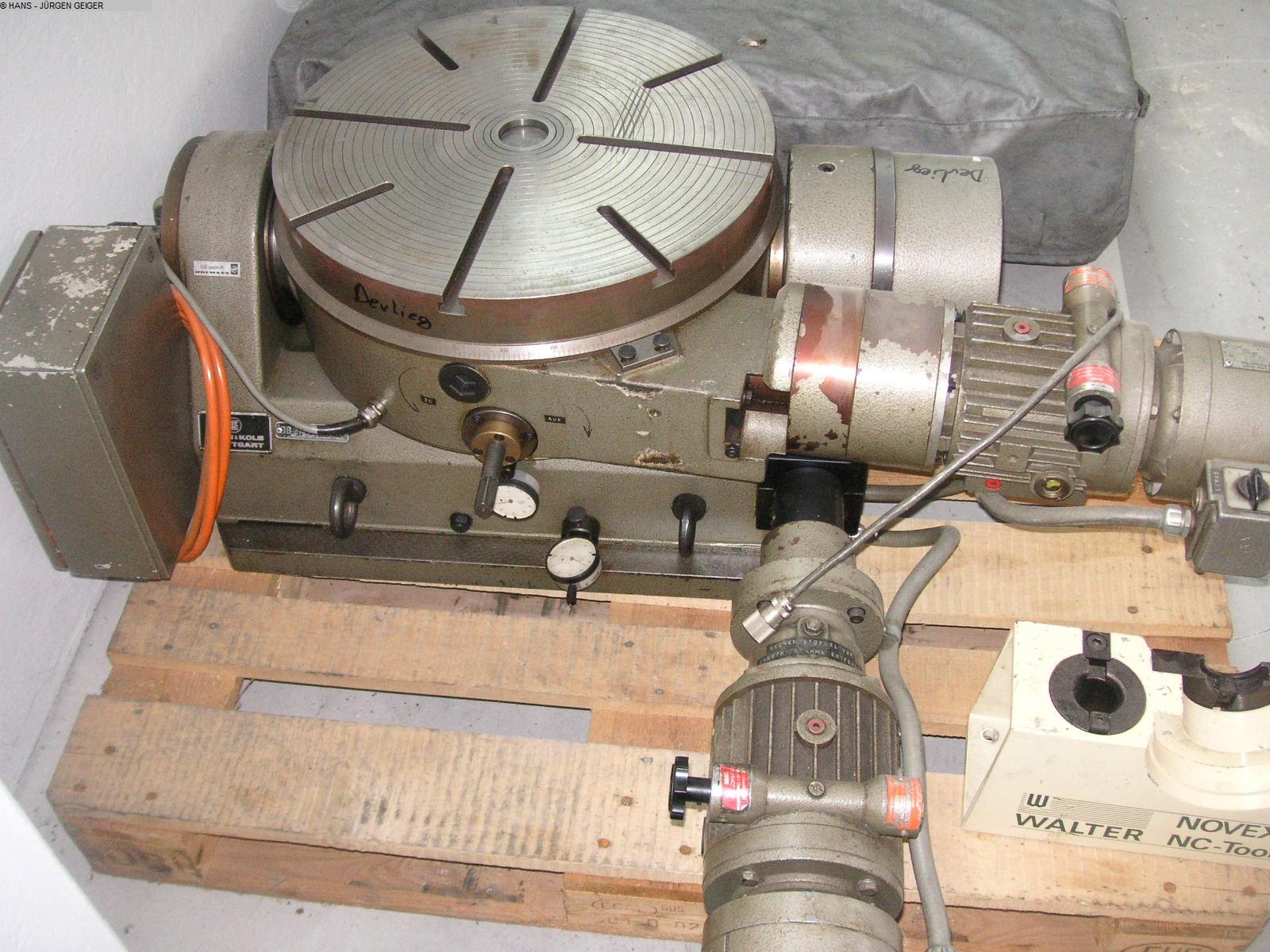 Autres accessoires pour machines-outils Rotary Table - Universal DEVLIEG Unitisch
