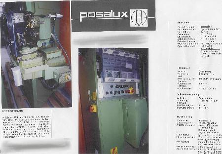 Perceuse de précision spéciale POSALUX MICROFOR 3 - NC 2