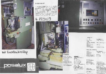 Perceuse de précision spéciale POSALUX MICROFOR PNC 3