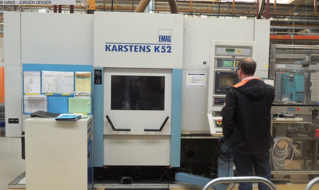 used Cylindrical Grinding Machine KARSTENS K 52-650