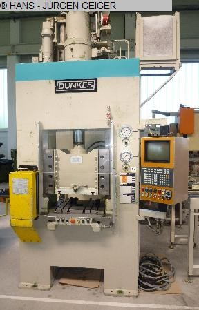 used Double Column Drawing Press - Hydraulic DUNKES HDS 63