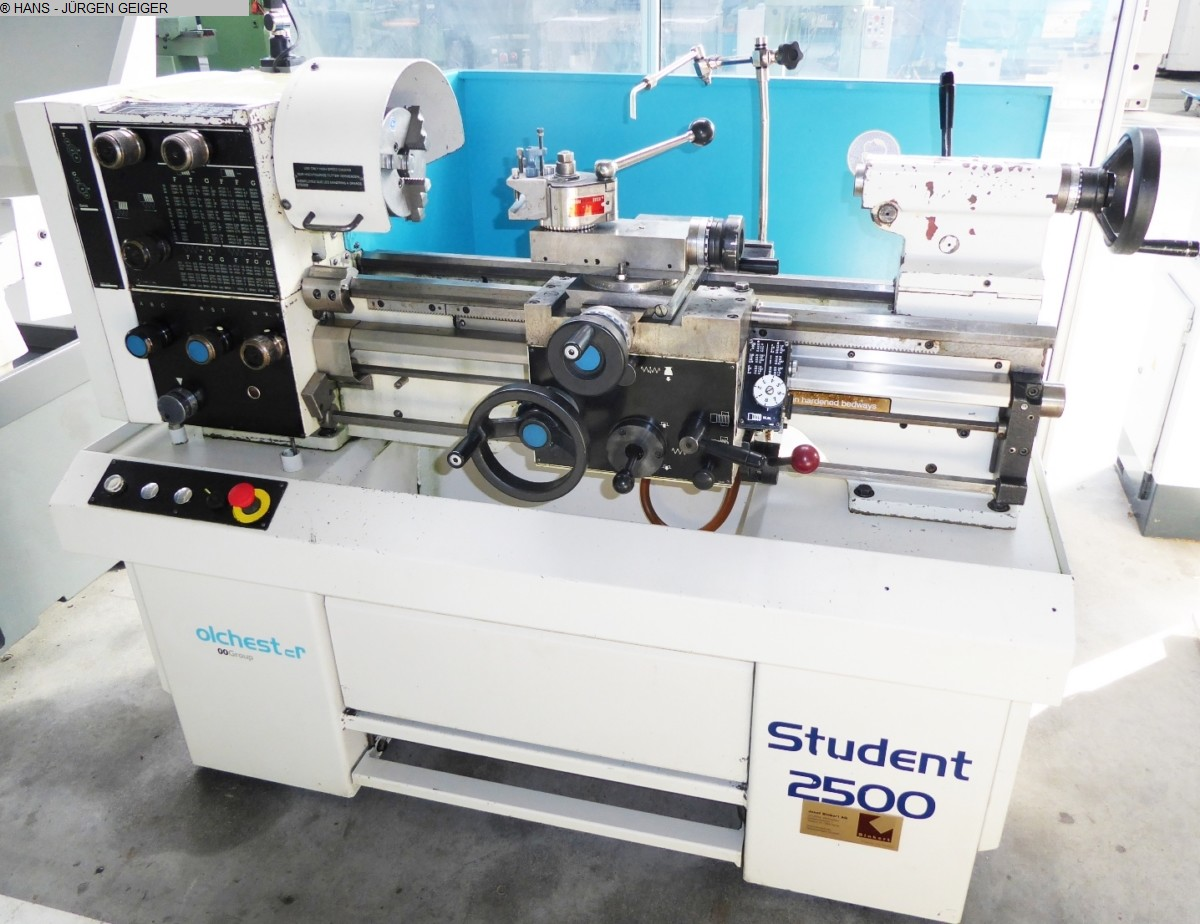 used Center Lathe COLCHESTER Student