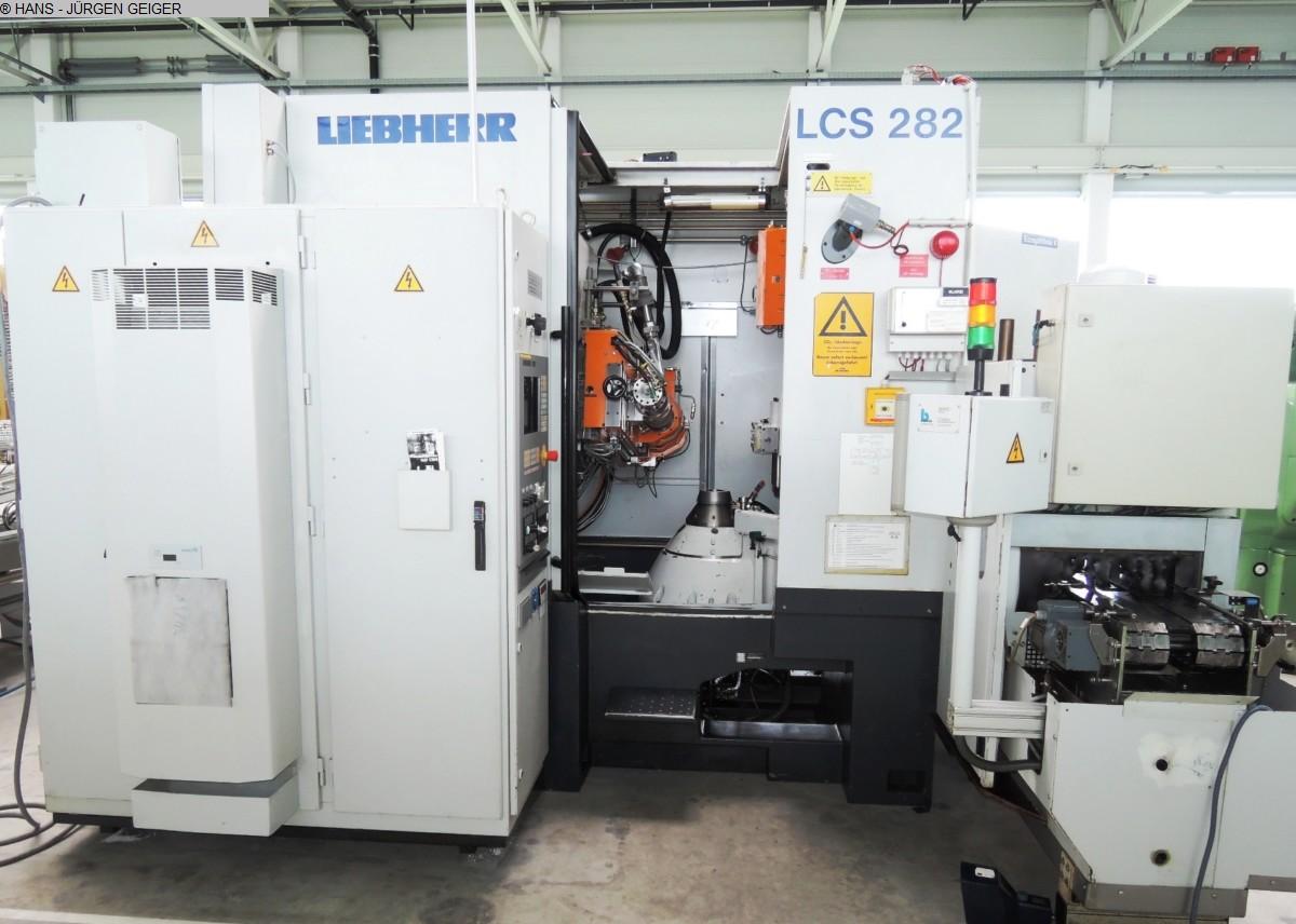gebrauchte Verzahnungsmaschinen Zahnflankenschleifmaschine LIEBHERR LCS 282