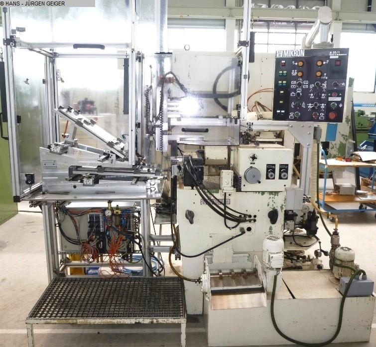 gebrauchte Verzahnungsmaschinen Zahnrad-Abwälzfräsmaschine - horizontal MIKRON A 33/1