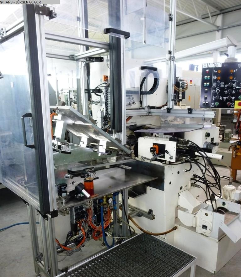 gebrauchte Verzahnungsmaschinen Zahnrad-Abwälzfräsmaschine - horizontal MIKRON A 33/0