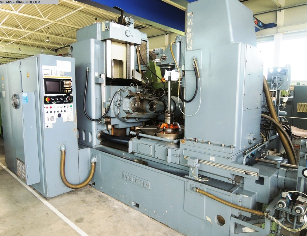 gebrauchte Zahnrad-Abwälzfräsmaschine - vertikal PFAUTER P 1000 NC