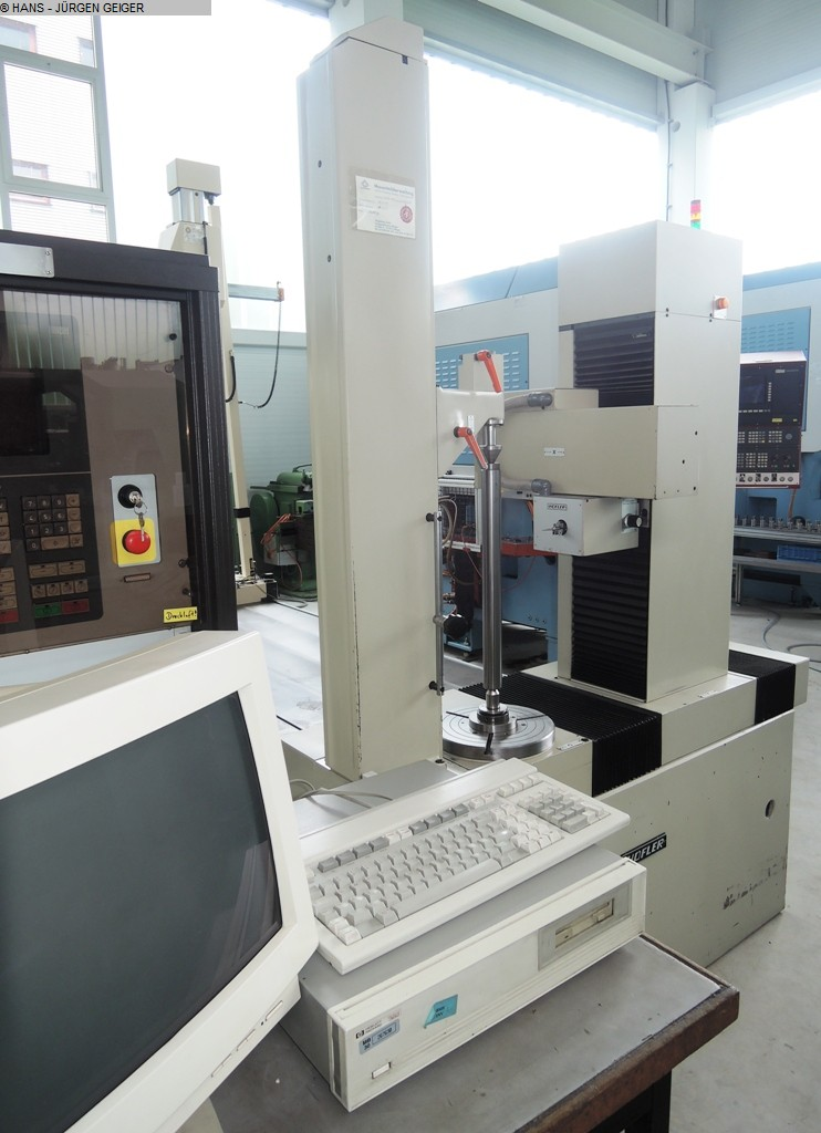 gebrauchte Verzahnungsmaschinen Zahnradprüfmaschine HOEFLER EMZ 400