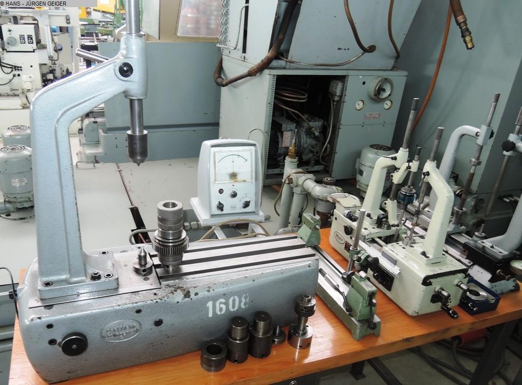 gebrauchte Verzahnungsmaschinen Zahnradprüfmaschine MAHR 894 C