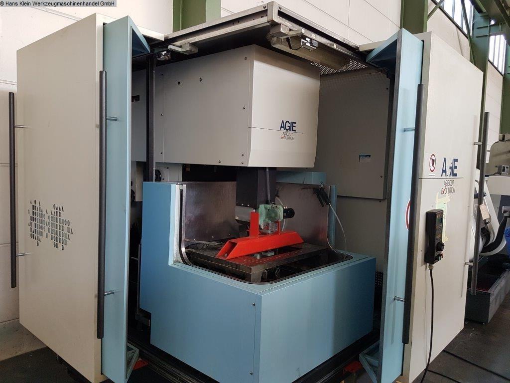 máquina usada Máquina de erosión de alambre AGIE AGIECUT EVOLUTION BC 2