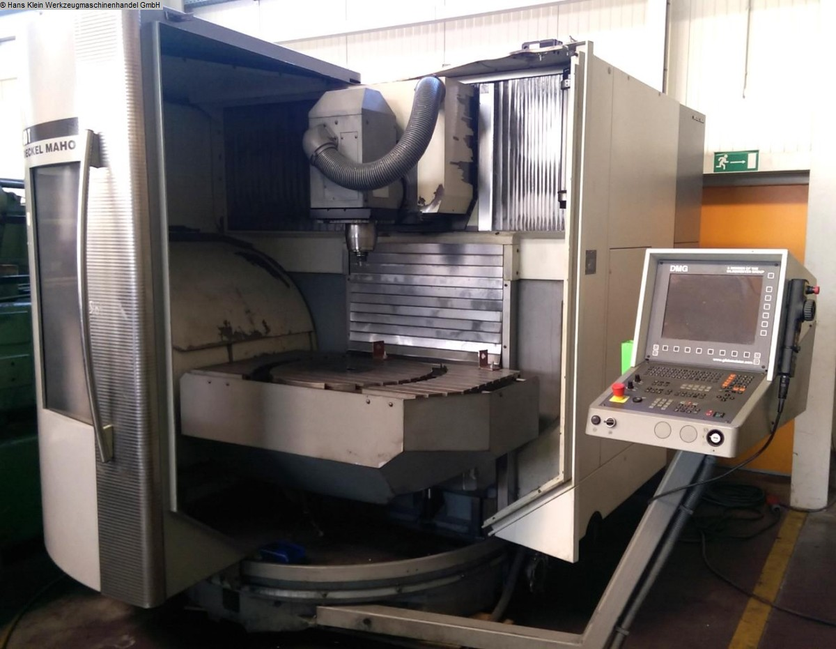 used milling machining centers - universal DECKEL-MAHO DMU 80 T