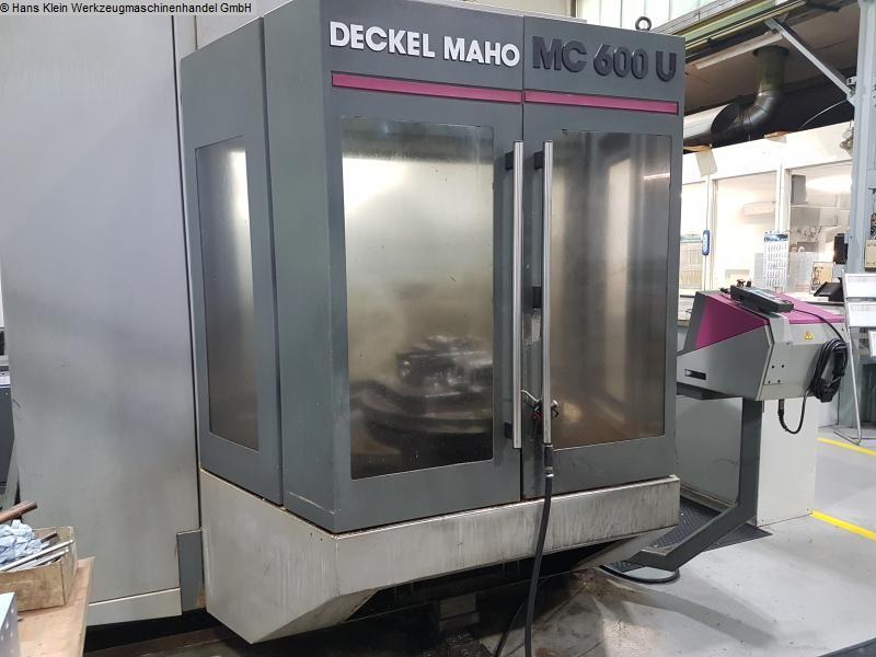gebrauchte Fräsmaschinen Bearbeitungszentrum - Universal DECKEL-MAHO MC 600 U