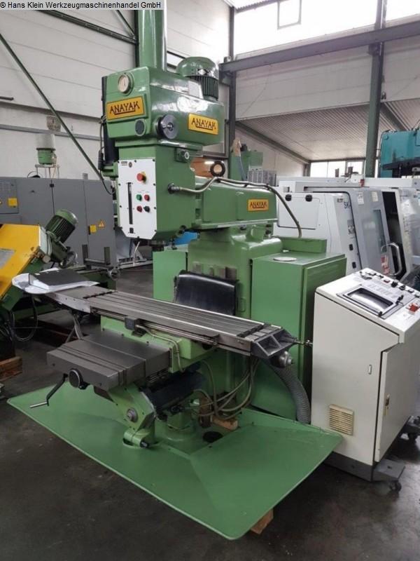 gebrauchte Fräsmaschinen Fräsmaschine - Universal ANAYAK 1080