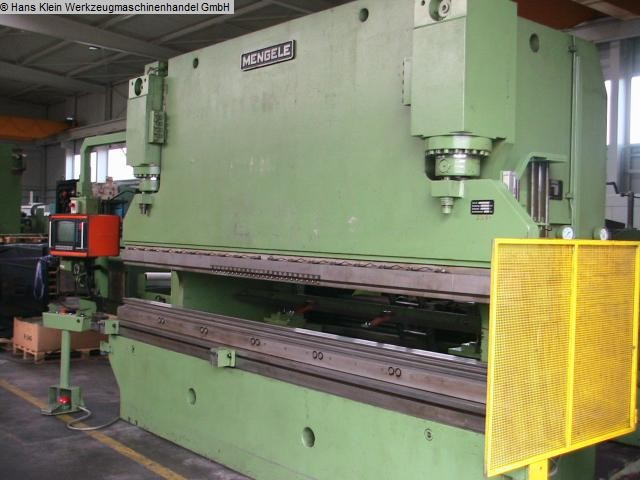 gebrauchte Blechbearbeitung / Scheren / Biegen / Richten Abkantpresse - hydraulisch MENGELE H 160-3