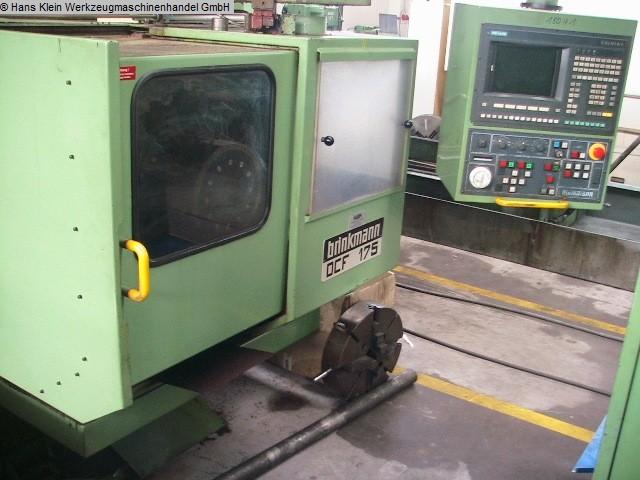 gebrauchte Drehmaschinen CNC Drehmaschine BRINKMANN DCF 175
