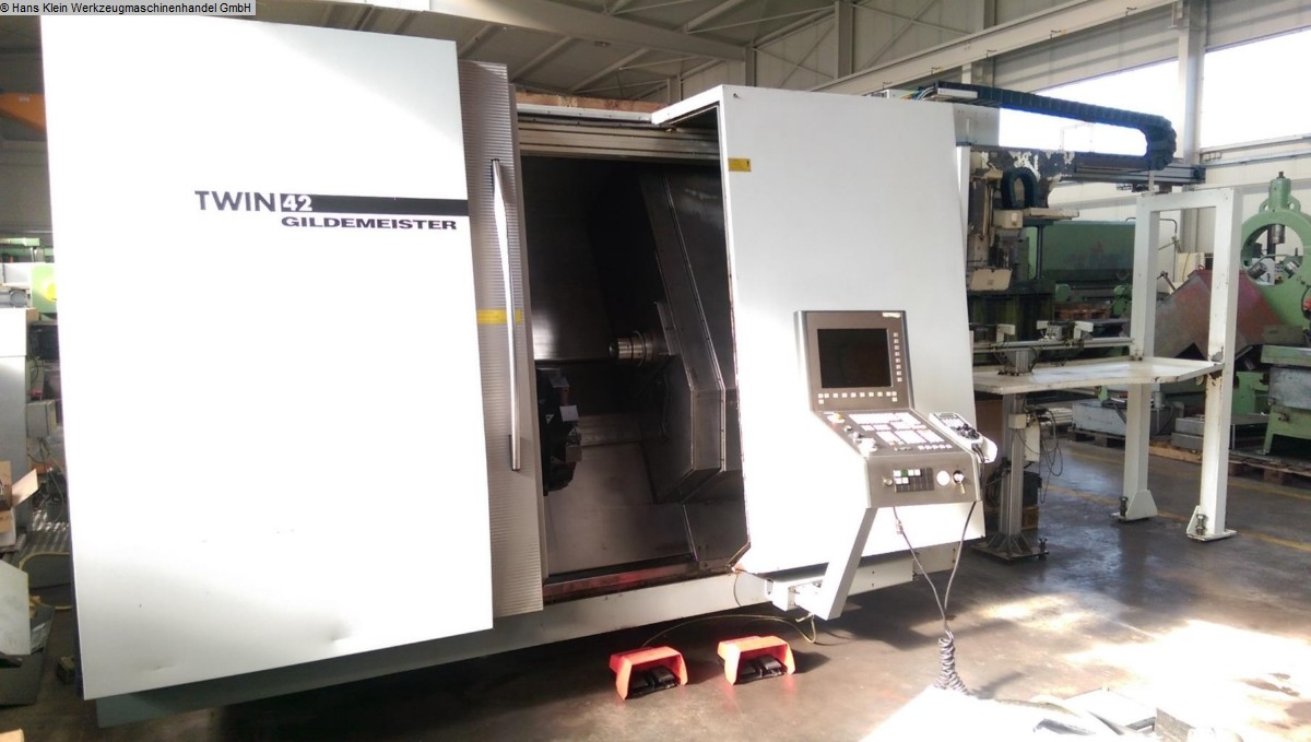 used Lathes CNC Lathe - Inclined Bed Type GILDEMEISTER TWIN 42
