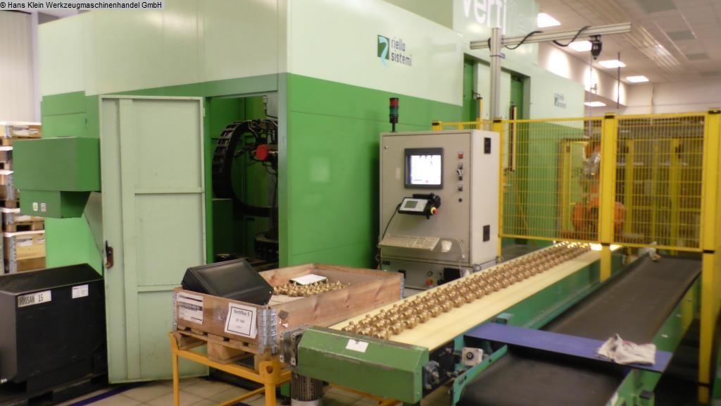 gebrauchte Bohrwerke / Bearbeitungszentren / Bohrmaschinen Flexibles Fertigungssystem RIELLO VERTIFLEX VFX 450-2/1-0/1-V