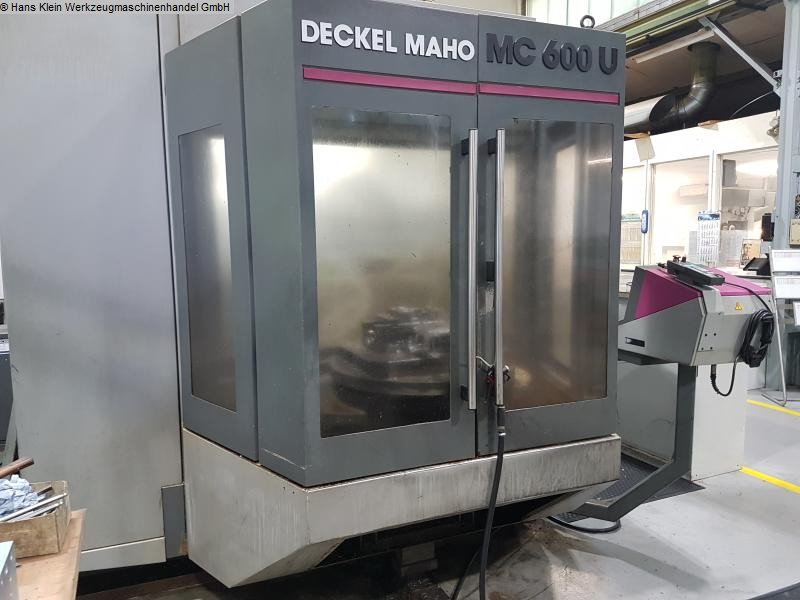 gebrauchte  Bearbeitungszentrum - Universal DECKEL-MAHO MC 600 U