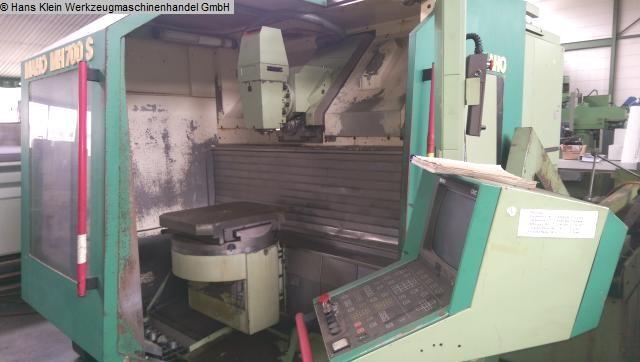 gebrauchte  Werkzeugfräsmaschine - Universal MAHO MH 700 S