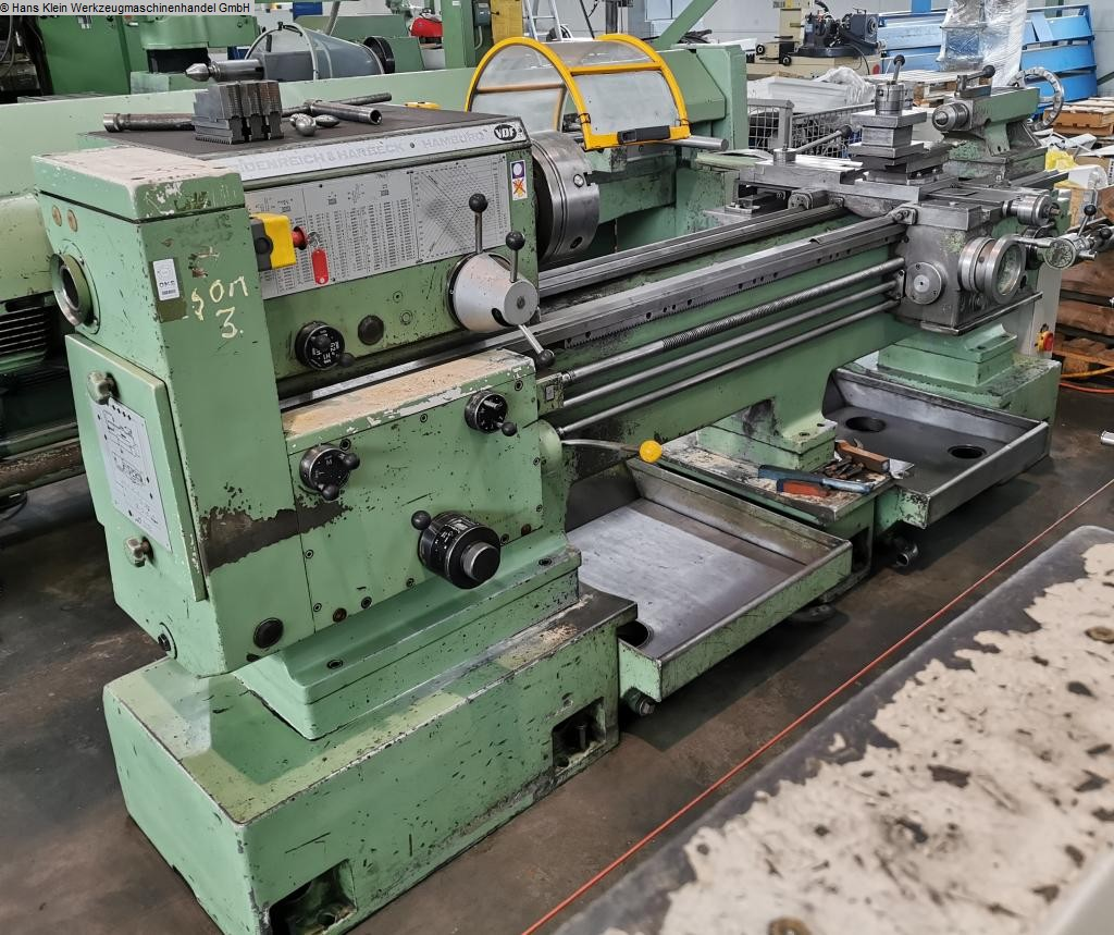 used  Center Lathe VDF/HEIDENREICH & HARBECK HAMBURG 21 RO