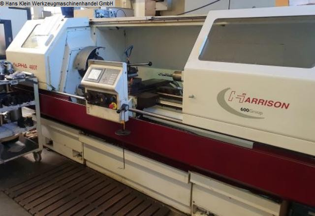 used  Lathe -  cycle-controlled HARRISON ALPHA T 460