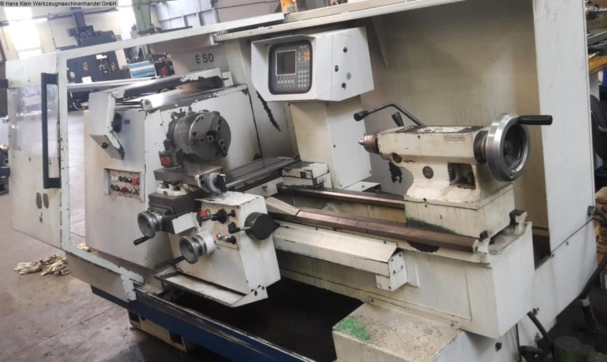 used Lathe -  cycle-controlled WEILER E 50/1